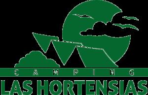 Logotipo Camping las Hortensias